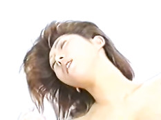 Asian Lass gives head and fucks